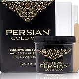Parissa Persian Cold Wax Hair Remover Kit, Small, 5 Oz, 140 ml