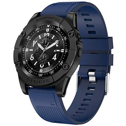 SW98 Smartwatch Männer Unterstützung SIM-Karte Pedometer Kamera Bluetooth Smartwatch Für Android Phone APK DZ09 Y1 A1 Armbanduhr,Blau