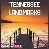 Tennessee Landmarks Calendar 2022: Official Tennessee Calendar 2022, 18 Month Photo of Tennessee Travel calendar 2022, Mini Calendar