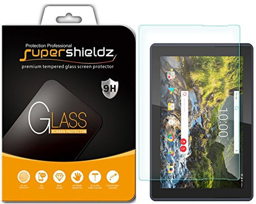 (2 Pack) Supershieldz for Verizon (Ellipsis 10 HD) (Not Fit for Ellipsis 10) Screen Protector, (Tempered Glass) Anti Scratch, Bubble Free
