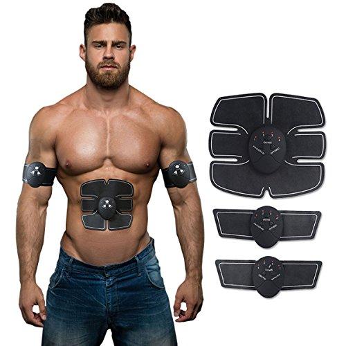 addominale tonificazione muscolare esercizio cintura addominale, EMS/braccio/gamba/allenamento fitness attrezzatura per home office allenamento sport outdoor uomini e donne di sostegno