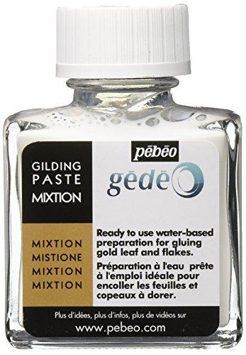 PEBEO Gédéo - Pasta dorada, 75 ml, color blanco, 5,5 x 5,5 x 4,5 cm
