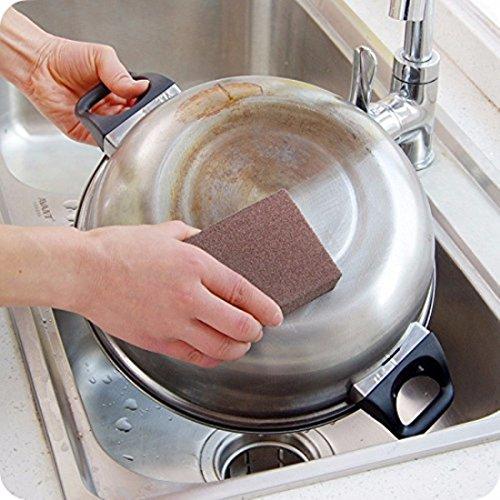 Bluelover Magic Emery Sponge borstel gum reiniger keuken roest schoonmaken gereedschap