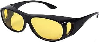 Gemgoo Unisex HD Vision Driving Sunglasses Wrap Around Glasses As Seen TV Anti Glare UV