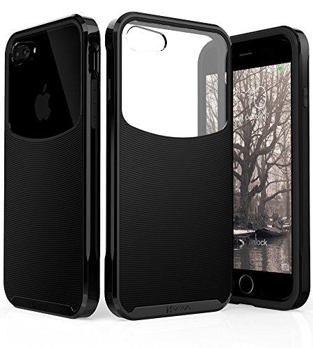 VENA iPhone 8 Plus Case, [Harmony] Wave Texture [Hybrid...