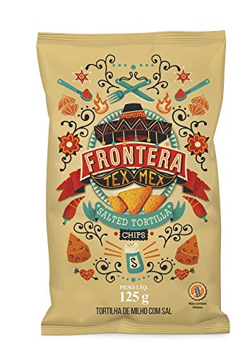 Tortilla Chips Sal Frontera 125g