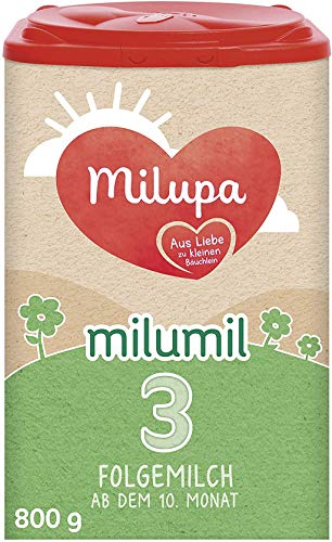 Milumil Milupa 3 Folgemilch ab dem 10. Monat, 800 g, 147833