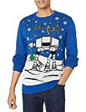 STAR WARS Men's Snow Flight Sweater, Royal, X-Large