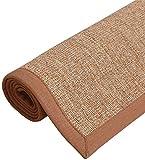 Calidad hechos a mano alfombras de paja área de la alfombra de sisal/salón de deslizamiento de la alfombra/tapete de mesa/área de estudio dormitorio de la familia cojín de la manta Salud y Belle