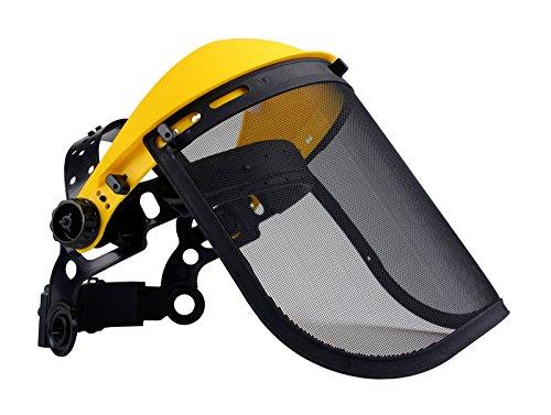 Oregon Q515064 - Visiera protettiva con rete in acciaio