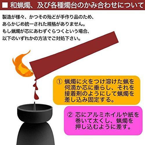 京都の職人さんによる手作りの絵ろうそく(5本入り)2号【京乃五節句】(m002)