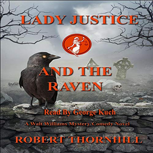 Lady Justice and the Raven audiobook cover art