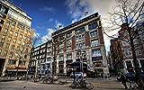 Decorsy Rompecabezas Puzzle 1000 Piezas Adultos Amsterdam Hotel City Building Colección Moderna De Decoración Del Hogar
