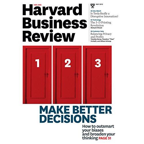 Harvard Business Review, May 2015 audiobook cover art