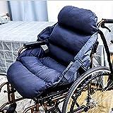 Mr.LQ Verdicktes winddichtes Rollstuhl-Wärmekissen Einteiliges Kissen Kissen Home Out Rückenpolster Kann gewaschen Werden