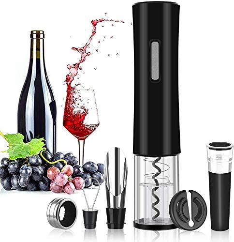Rovtop Wine Opener,Electric Bottle Opener Electric Corkscrew,Automatic...