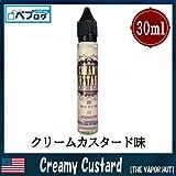 The Vapor Hut (ベイパーハット) 30ml 電子タバコ リキッド 海外 (Creamy Custard)