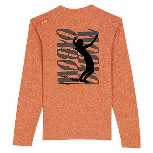 Oxbow N2TAMBOV Tee Shirt Manches Longues Graphique Homme Bourbon