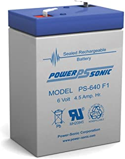 Lead Acid Battery 6v 4.5 Ah In-Terminals