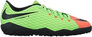 Nike Junior Hypervenom X Phelon III Turf Soccer Shoes (4.5 Big Kid M)
