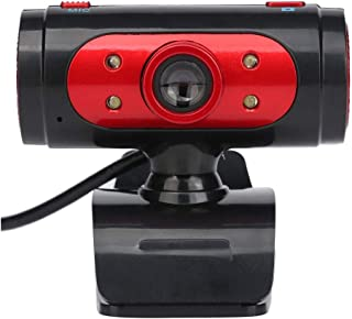 WXFXBKJ Computer Webcam USB, 720P HD Web Video Webcam, Microphone Voice Intercom, Video Exam Teaching, Remote Conference, ...