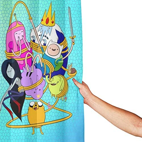 Adventure time shower curtain _image0
