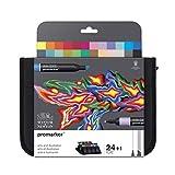Winsor & Newton Promarker - Astuccio 24 Promarker 'art & Illustration'