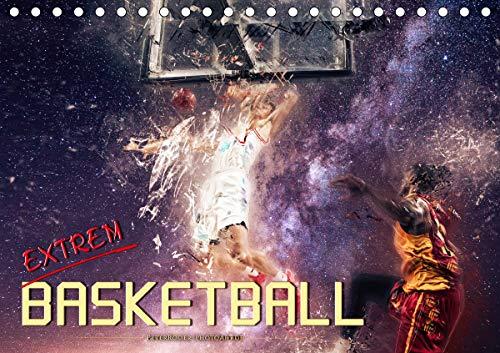 Basketball extrem (Tischkalender 2021 DIN A5 quer)
