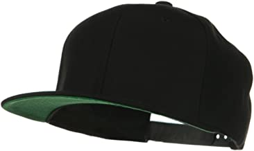 Sonette/Yupoong Wool Blend Prostyle Snapback Cap - Black
