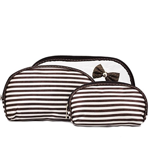 Trousse de Toilette et maquillage BENZI - Fantaisie Marron