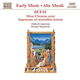 Dufay: Missa l'homme Arme