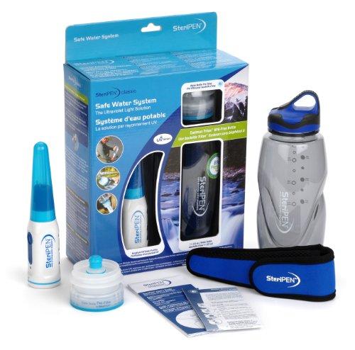 Steripen Classic - Sistema de purificación de Agua por esterilización Ultravioleta (portátil), Color Blanco y Azul