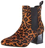 Gioseppo 56586, Botines para Mujer, Multicolor (Leopardo Leopardo), 38 EU