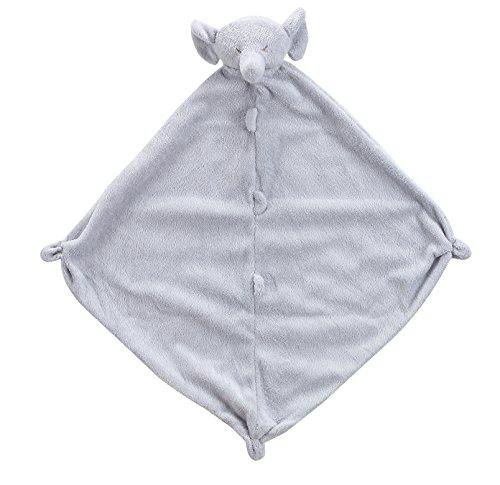 Angel Dear Cuddle Blanket, Grey Elephant, 7 x 3.7 x 2.3 Inch