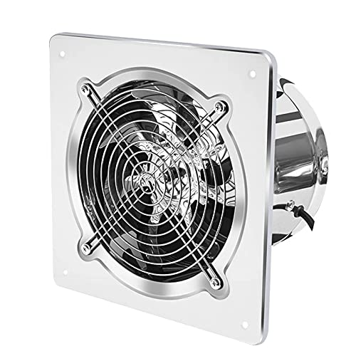 QJXX Ventilazione del Bagno Aspiratore da Parete/soffitto, Ventilatore per La Ventilazione della Casa Ultra Silenzioso Aspiratore per L'umidità del Garage Forte Scarico per Cucina/Bagno/Ufficio