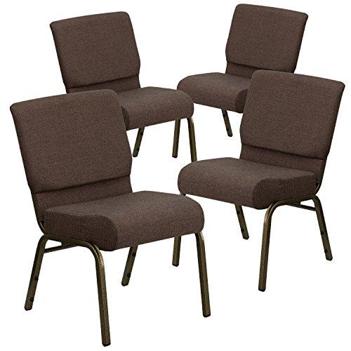 Flash Furniture 4 Pk. HERCULES Series 21''W Stacking Church Chair