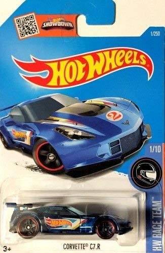 Hot Wheels 2016 - Corvette c7.r (blue)