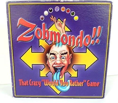 Zobmondo That Crazy Would You Rather Game (1998) by Zobmondo