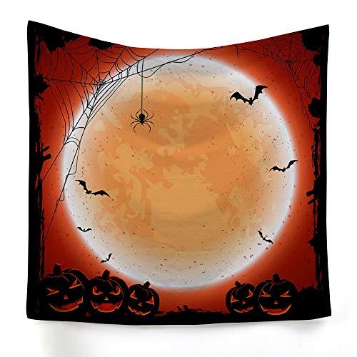 xkjymx Hängetuch Dekotuch Halloween Druckteppich Bild 8 150X100cm