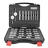 Kuingbhn Kit de herramientas de reparación de bicicletas Set de prensa de rodamientos de bicicleta