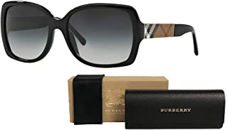 Burberry BE4160 Square Sunglasses For Women+FREE Complimentary Eyewear Care Kit