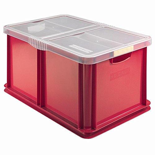 Heidrun Box Unibox mit Deckel 60X40X30 L60 Riordino E Lavendel