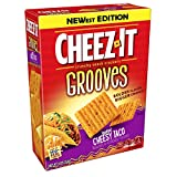CheezIt Grooves Taco Crispy Cracker Chips, 9 Ounce