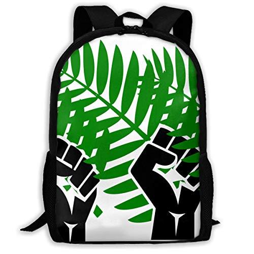 Hui-Shop Sac à Dos de Voyage Sac à Dos pour Ordinateur Portable Grand Sac à Couches - Palm Sunday Backpack School Backpack pour Femmes et Hommes