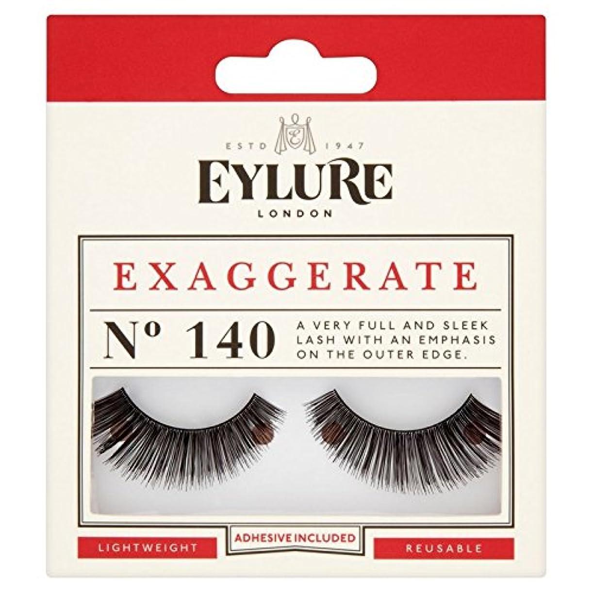 克服するフレア木材Eylure Exaggerate Lash 140 (Pack of 6) - の誇張は140ラッシュ x6 [並行輸入品]