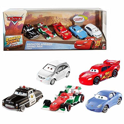 Disney Radiator Springs Cars | 5 Vehículos | Mattel DWW38 | Cast 1:55