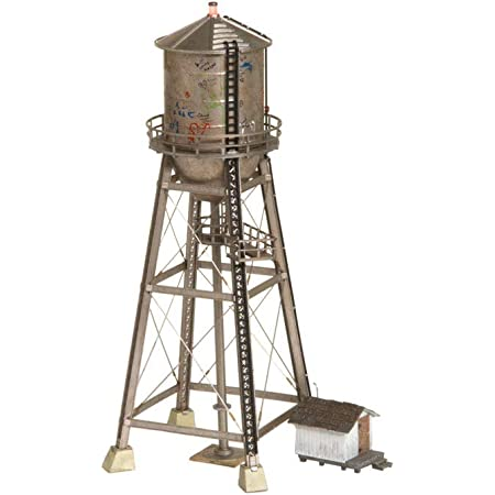 Woodland Scenics BR5866 O Built-Up Rustic Water Tower