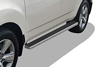 APS iBoard Running Boards 4 inches Custom Fit 2007-2010 Acura MDX Sport Utility 4-Door (Nerf Bars Side Steps Side Bars)