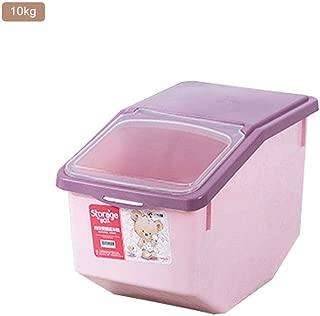 MAJOZ 15KG Recipientes para Cereales,Cajas de Almacenar Comida de pl/ástico sin BPA,Sellado a Prueba de Humedad,con Taza de medici/ón,20L