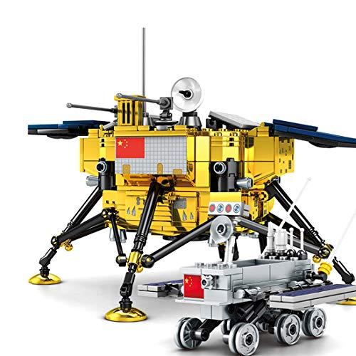 JOYFLY Tecnica sonda lunare con minifigure, serie aerospaziale, 702 pezzi, compatibile con LEGO